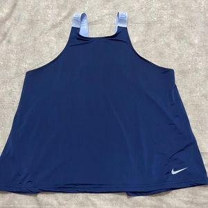 Nike DriFIT blue tank top large